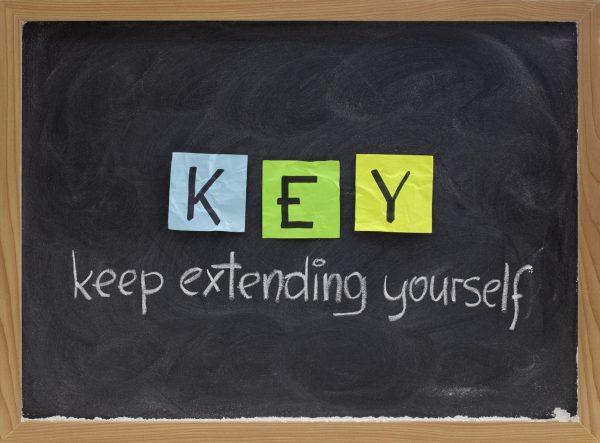 Keep Extending Yourself