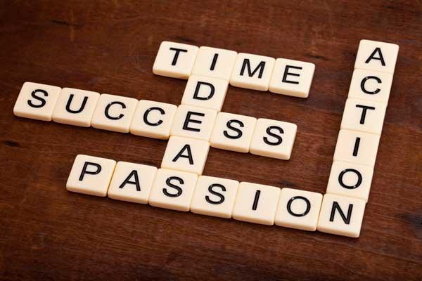 Success Ideas Passion Action