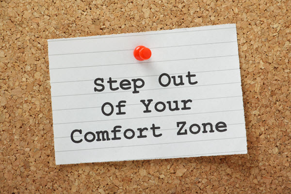 Step Out of Your Comfort-Zone