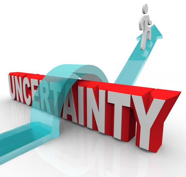 Overcome uncertainty