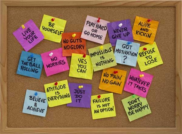 Positive Slogans