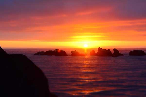 Sunset Ocean Jenna Beekhuis